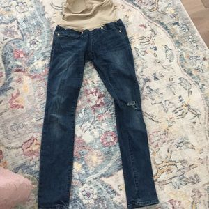 Gap maternity always skinny jeans-full panel